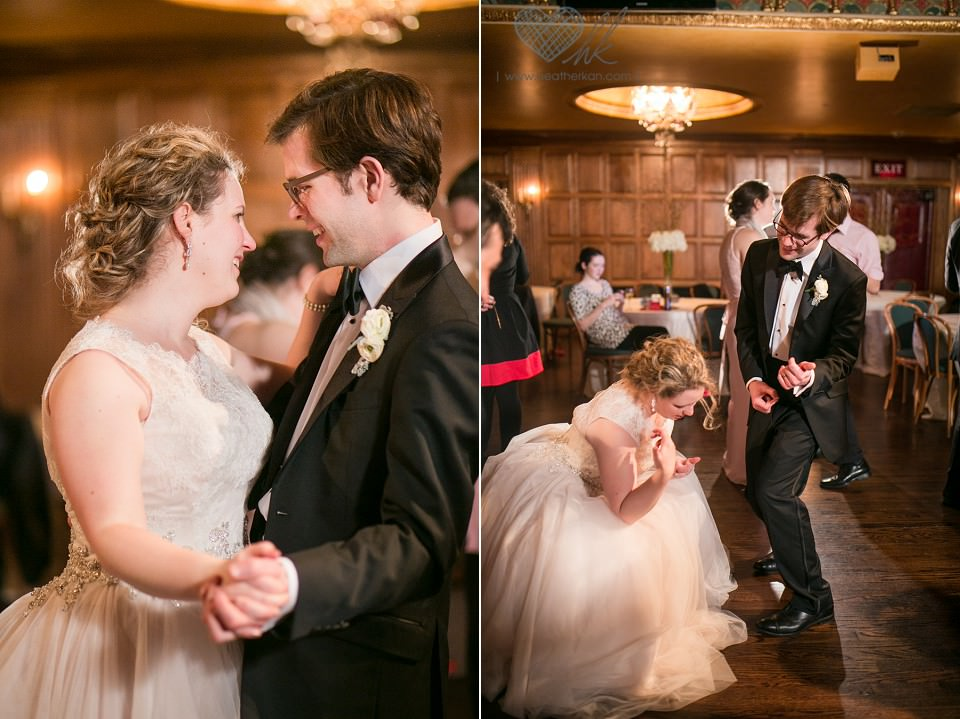 Gem Theater reception dance floor photographs
