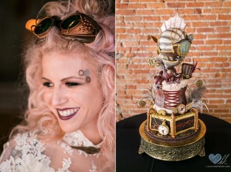Steampunk wedding photography Lansing Michgan