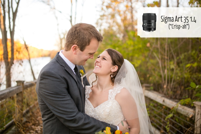 Sigma 35 1.4 Art lens wide angle for wedding photographers