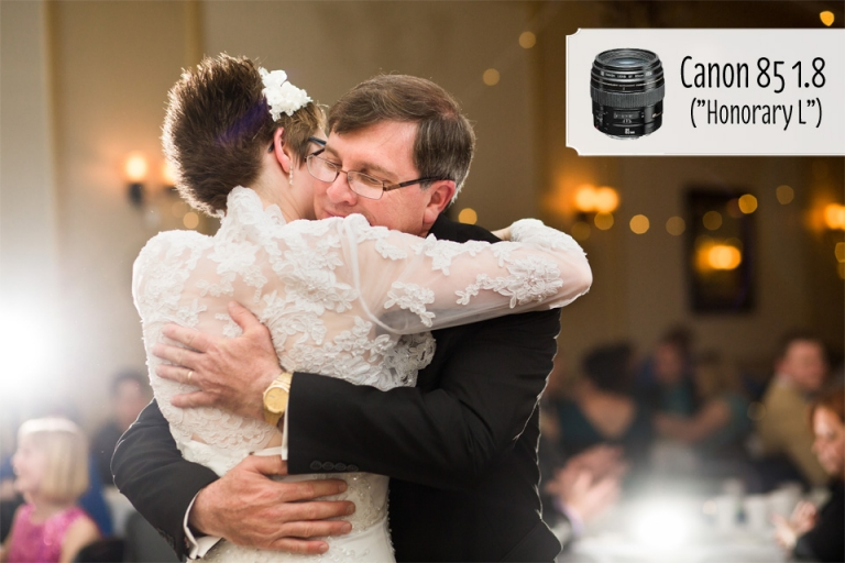 Canon 85 1.4 inexpensive portrait lens for wedding photographers