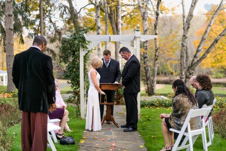 Michigan distillery wedding