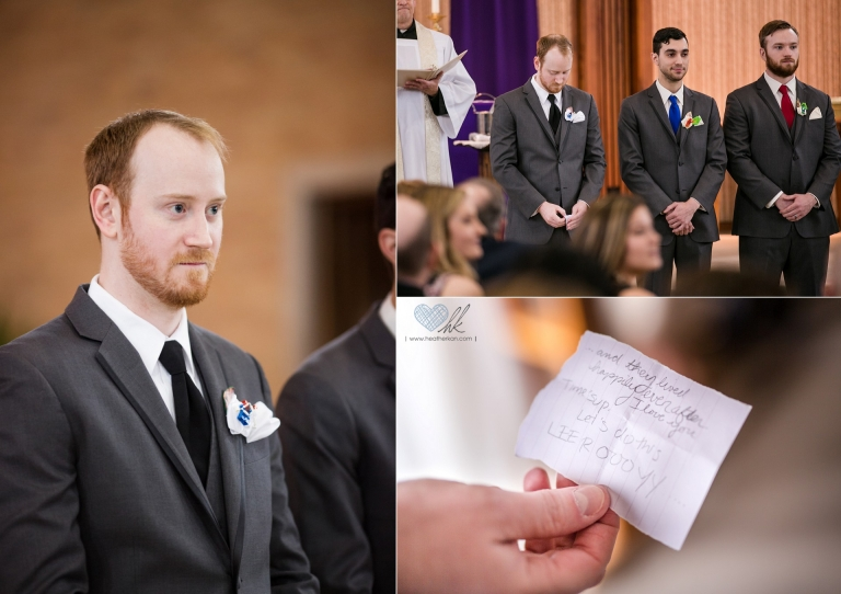 Lansing Michigan wedding photographs at Church of the Resurrection