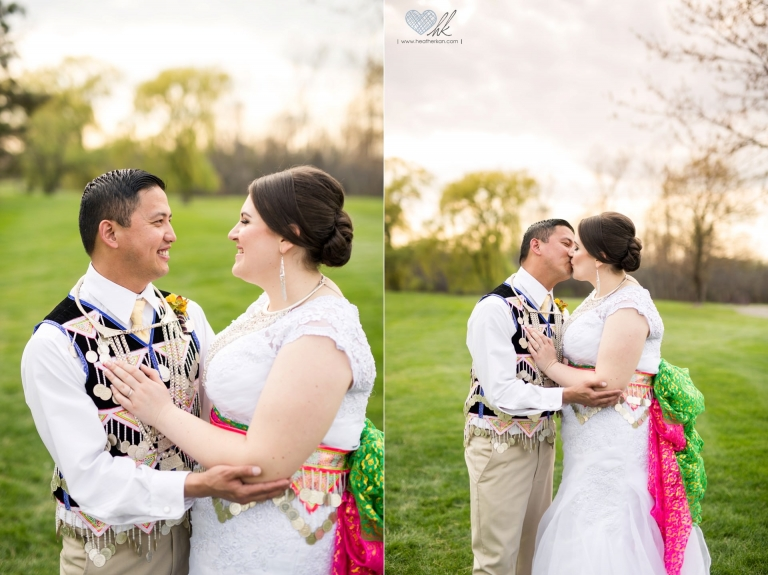 Hmong And American Blended Traditional Wedding Photographs