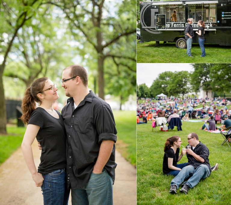 relaxed Grand Rapids engagement session at Ah-Nab-Awen park (16)