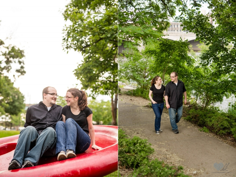 relaxed Grand Rapids engagement session at Ah-Nab-Awen park (13)