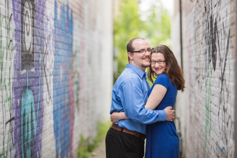 relaxed Grand Rapids engagement session at Ah-Nab-Awen park (2)