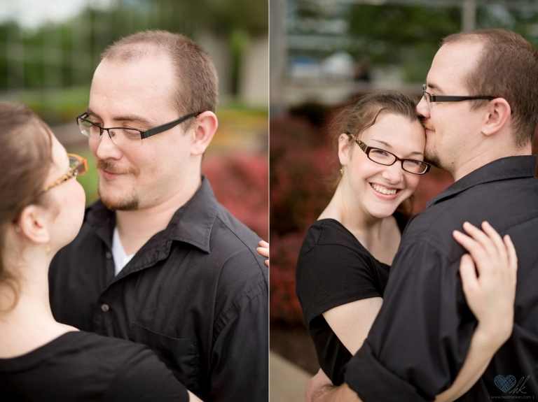 relaxed Grand Rapids engagement session at Ah-Nab-Awen park (19)