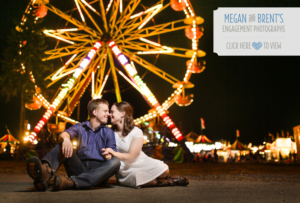 engagement photographs at the Fowlerville Fair