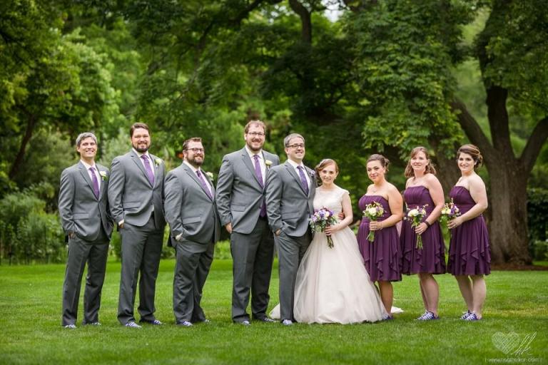 Beal Gardens MSU wedding photographs