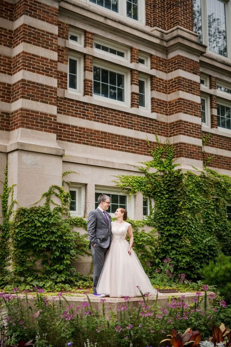 Beal Gardens MSU wedding photos