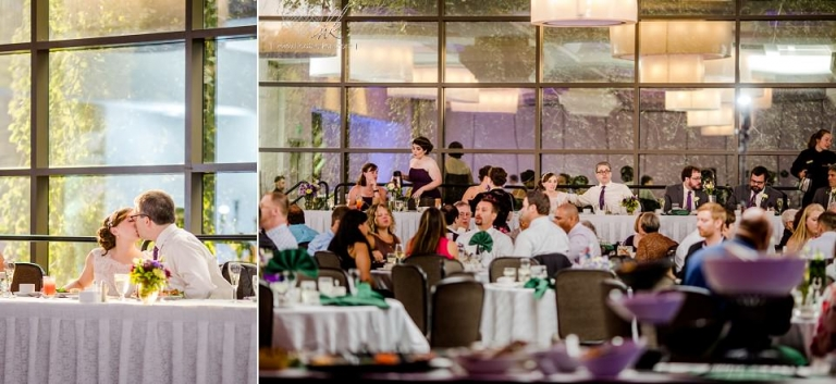 Kellogg Center MSU wedding reception
