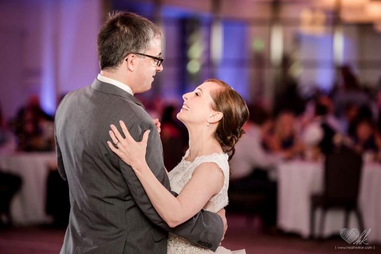 Kellogg Center MSU wedding reception photographs