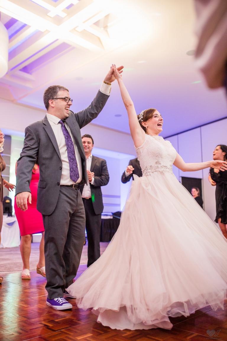Kellogg Center MSU wedding reception photographer