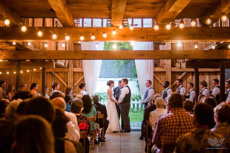 Brad And Marie Country Wedding At Milestone Barn
