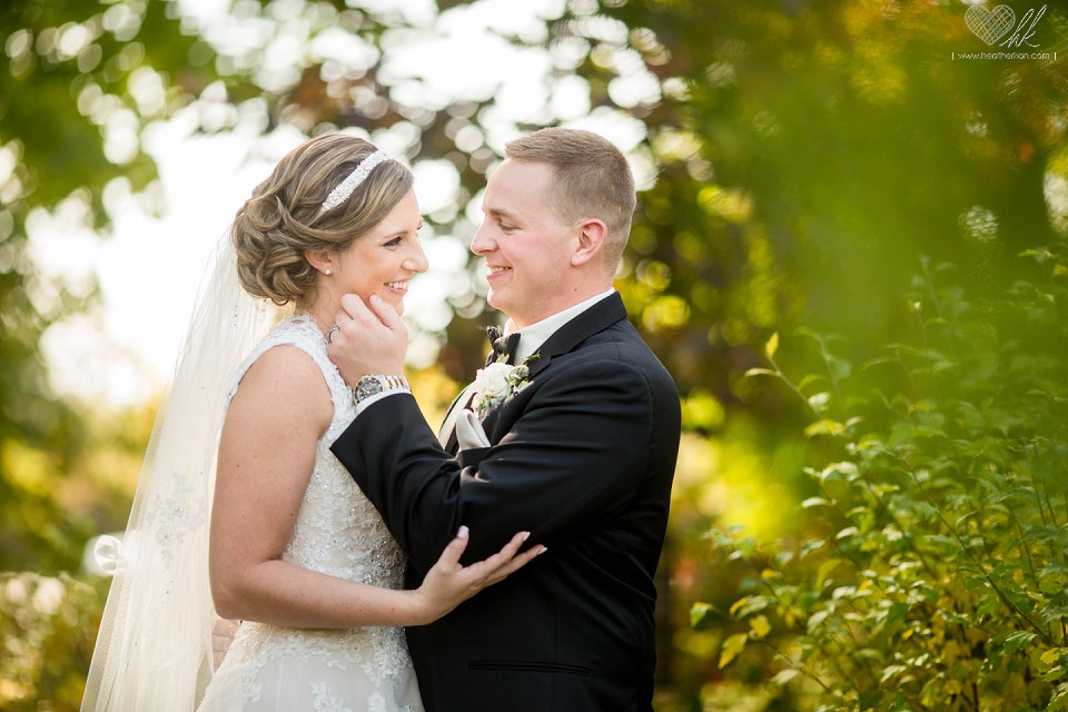 Nicole And Brad Fall Wedding At Our Lady Of Good Counsel