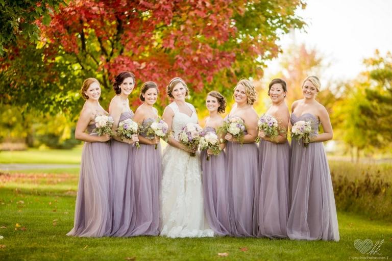 wedding photographs at lyon oaks banquet center