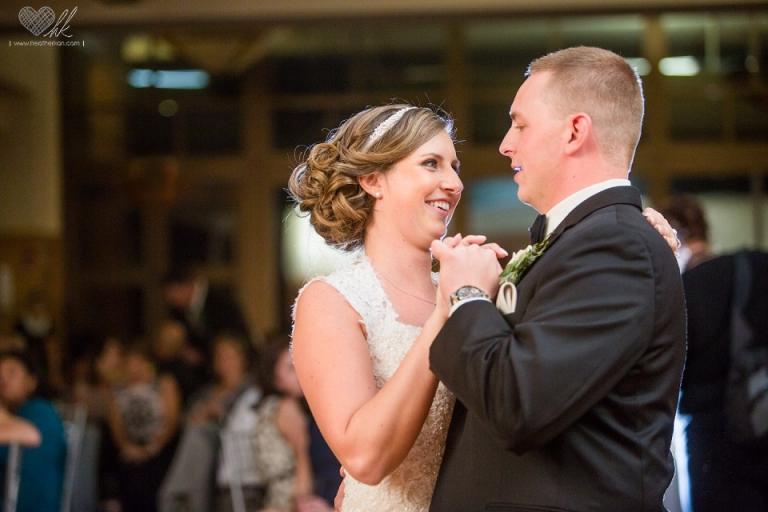 wedding reception photos at lyon oaks banquet center