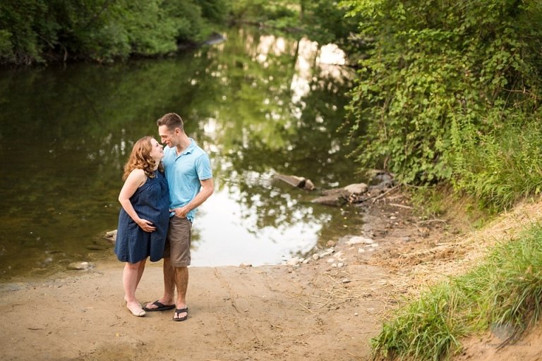 Brighton Michigan maternity photographs