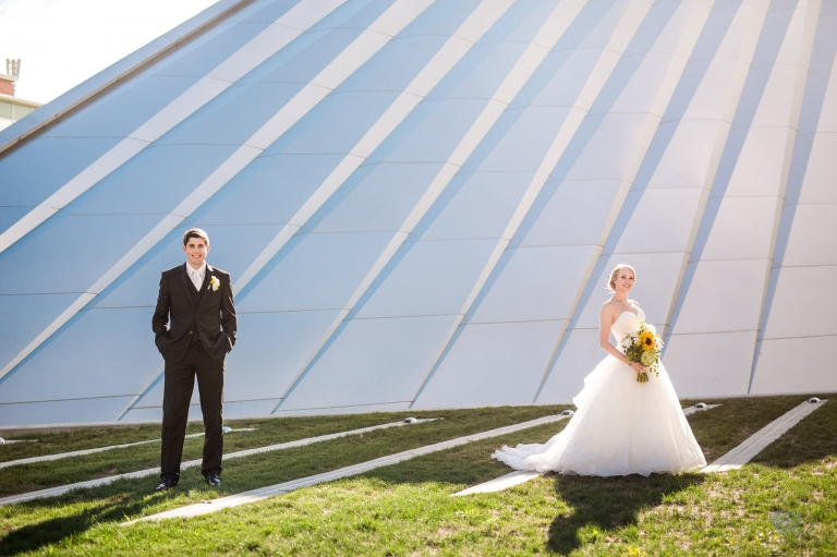 Eli and Edythe Broad Art Museum MSU wedding photographs