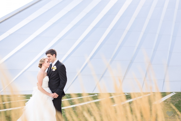 Eli and Edythe Broad Art Museum MSU wedding photographs