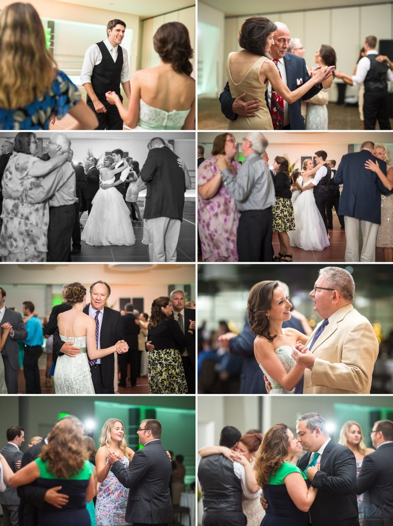 Kellogg Center wedding reception photographs