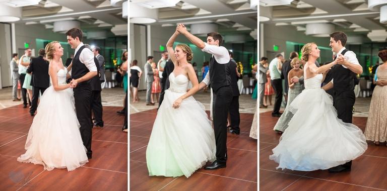 Kellogg Center wedding reception photographs