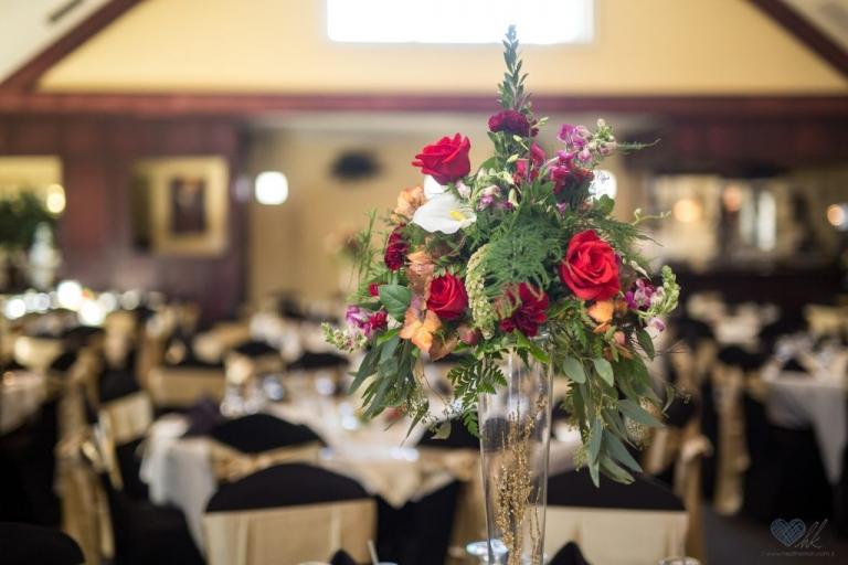 Golden Glow Ballroom wedding