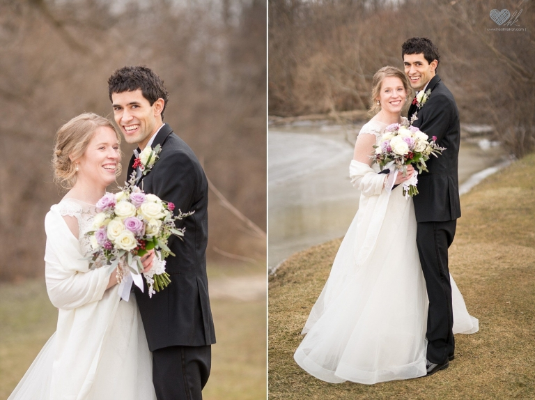 wedding photographs in Plymouth, Michigan