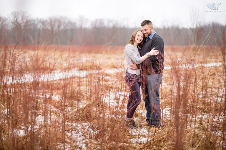 Grand Ledge Winter Photographs at Lincoln Brick Park