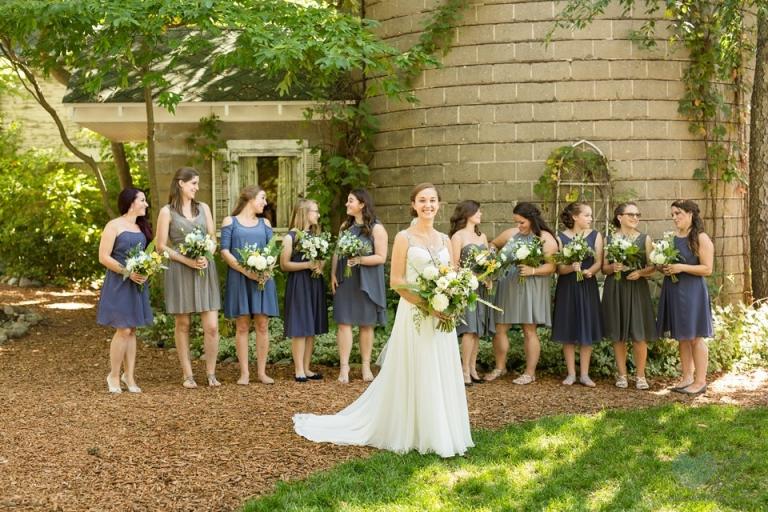 Blue Dress Barn wedding photos