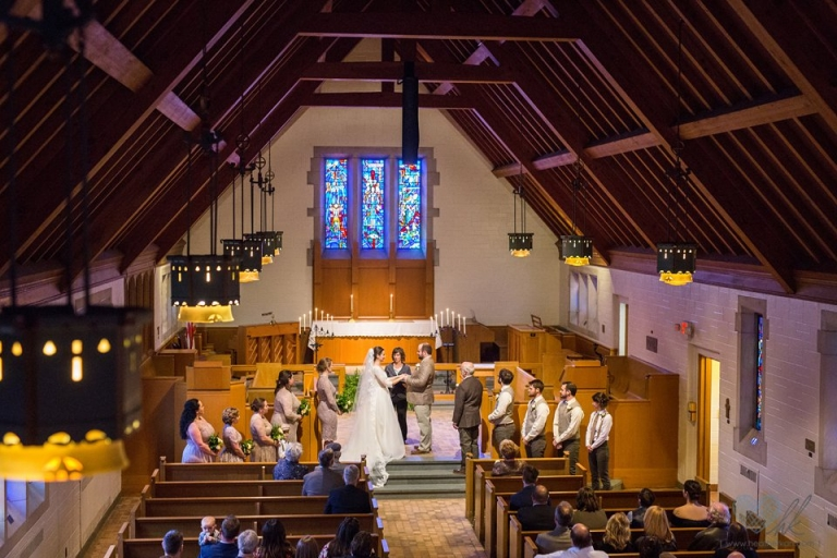 MSU Alumni Chapel wedding