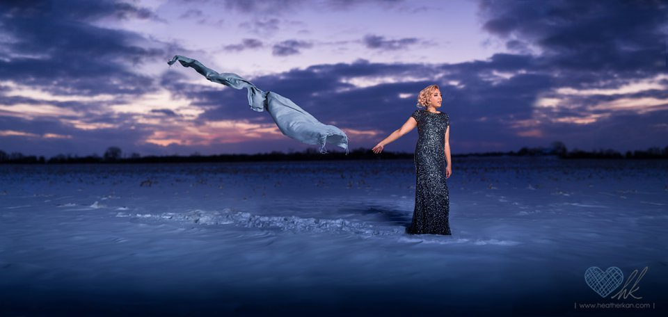 Let it go frozen theme photographs