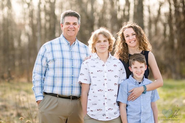 family photographs at Grand Ledge's Lincoln Brick Park