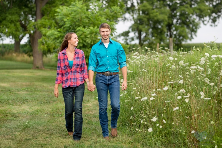 Cherry Barc Farm engagement session