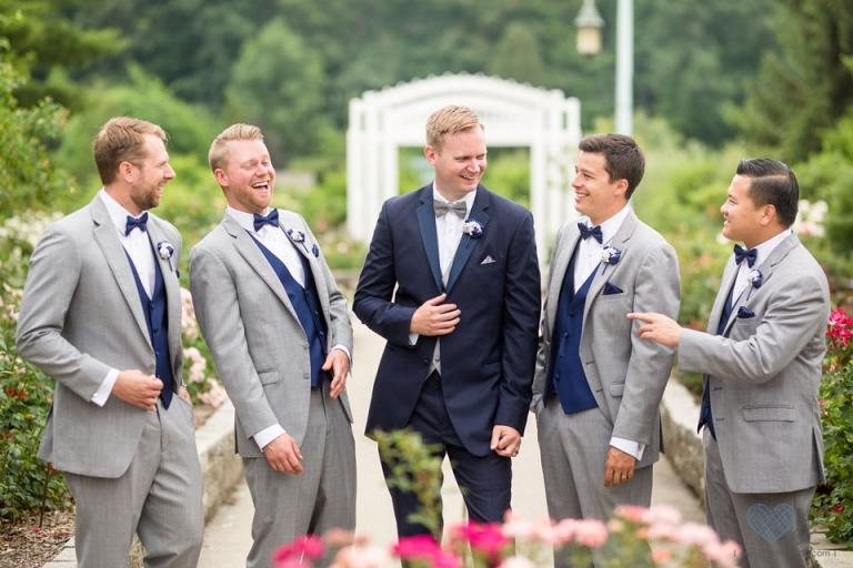 MSU South Horticulture Gardens wedding photographs
