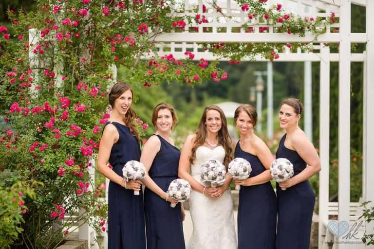 MSU Horticulture rose Gardens wedding photographs