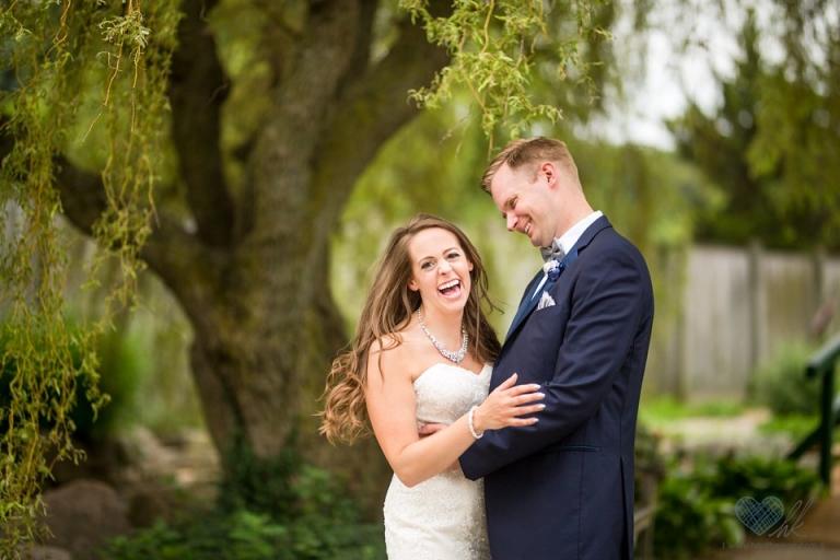 MSU Horticulture Children's Garden wedding photographs