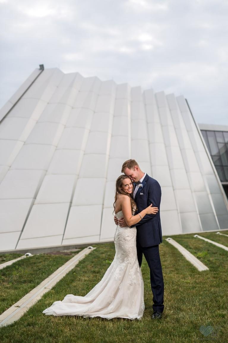 Eli and Edythe Broad Art Museum wedding photos