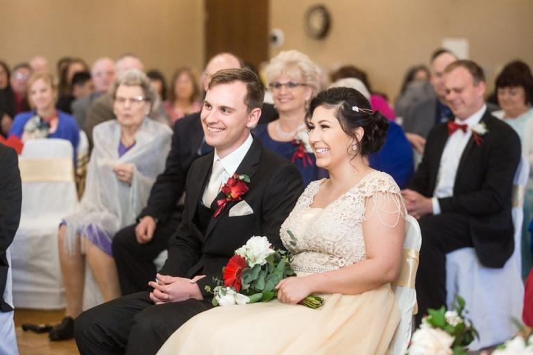 Okemos Conference Center wedding ceremony photographs