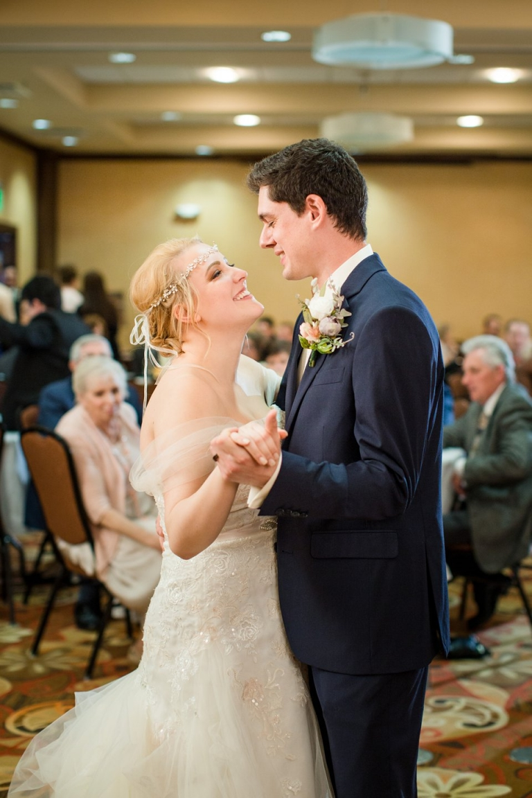 Wedding reception at the Holiday Inn  Airport rd, Jackson, Michigan
