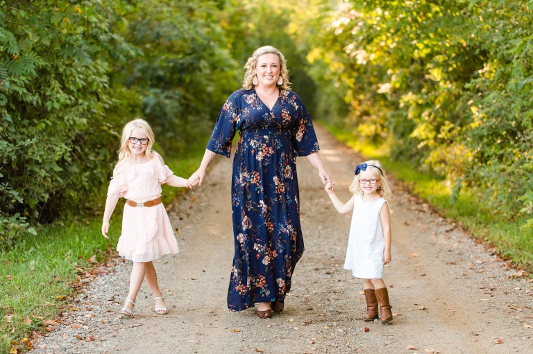 Mommy and me session in Grand Ledge, Michigan