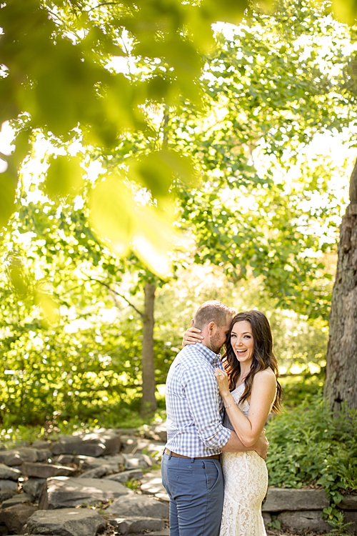 an intimate COVID wedding at MSU Gardens, Michigan